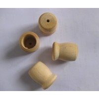 All kinds of wooden beads, blocks and knobs